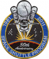 Space Shuttle Columbia 30 Years Anniversary Embroidered Patch